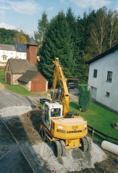 Bauarbeiten in der Vordergasse