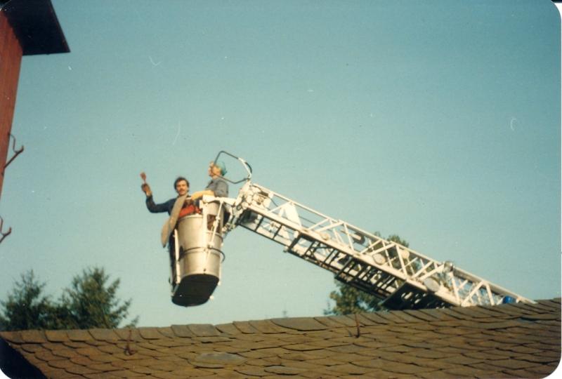 Spritzenhaus1985 - Sanierungsarbeiten
